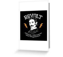 REVOLT Greeting Card