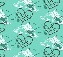 Fresh hearts pattern by Perfectelu