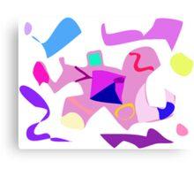 Dancing Man Canvas Print