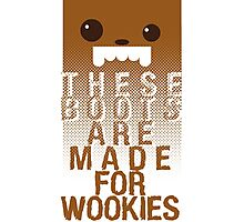 These boots are made for Wookies Photographic Print