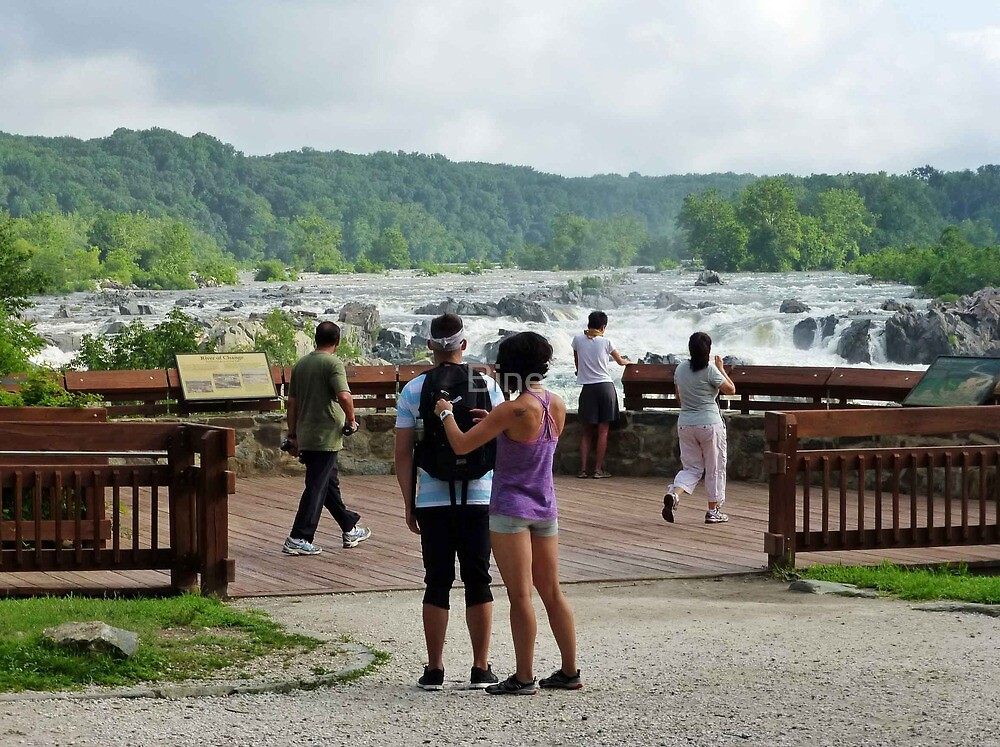 Eco-Tourism at Great Falls Park, VA by Bine