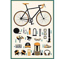 Bike gear Photographic Print
