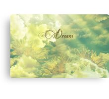 Dreaming in Summer Clouds Canvas Print