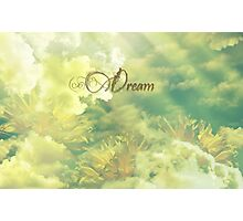 Dreaming in Summer Clouds Photographic Print