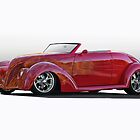 1938 Ford Roadster 'Studio' by DaveKoontz