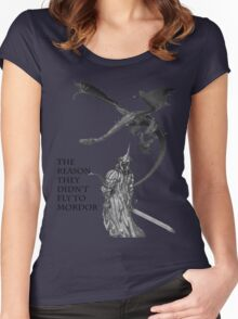 Witch King- the reason they didn't fly to mordor Women's Fitted Scoop T-Shirt