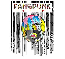 Fangpunk Colour Rain T Shirt Photographic Print