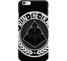 RUN THE TRAP iPhone Case/Skin