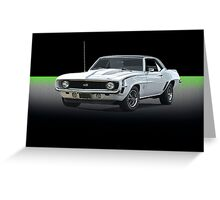 1969 Camaro SS350 Greeting Card