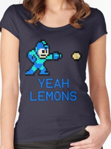 Yeah Lemons Women's Fitted Scoop T-Shirt
