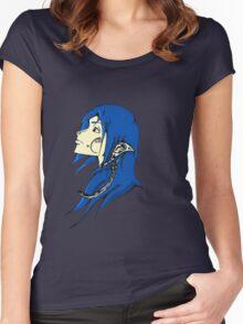 Midnight Elf Design Women's Fitted Scoop T-Shirt