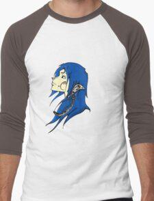 Midnight Elf Design Men's Baseball ¾ T-Shirt