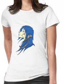 Midnight Elf Design Womens Fitted T-Shirt