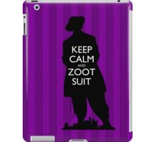Keep Calm and Zoot Suit (El Pachuco/Purple) iPad Case/Skin