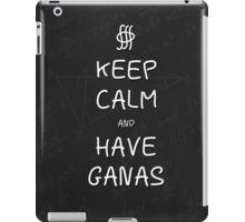 Keep Calm and Have Ganas - Chalkboard iPad Case/Skin