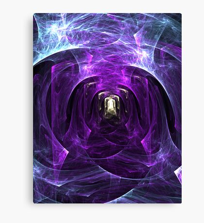 Squaring up to Spirituality Canvas Print