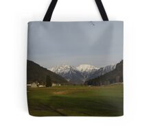 Mountain View in Austria Tote Bag
