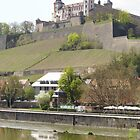 Fortress Marienberg in Germany by CadburyKeepsake