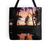 JULY SUNSET ON ECONFINA CREEK Tote Bag