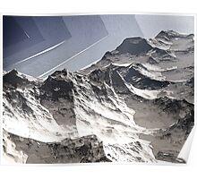 Arctic Mountain Peaks Poster