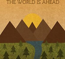 The World is Ahead (Tolkien) by enthousiasme