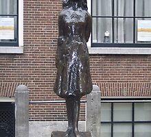 A Statue of Anne Frank by CadburyKeepsake