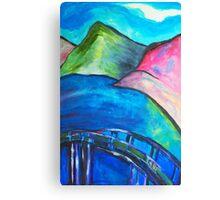 Heart Bridge Canvas Print