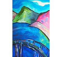 Heart Bridge Photographic Print