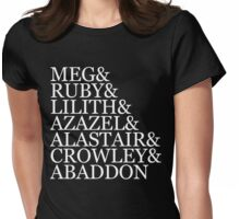 The Big Seven (Demons) v2 Womens Fitted T-Shirt