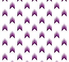 Purple Gradient Arrows by yHERO