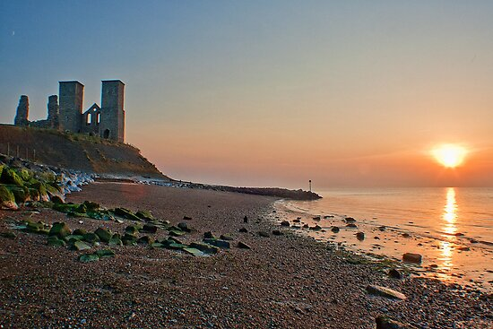 Sunset At St Mary's by Dave Godden