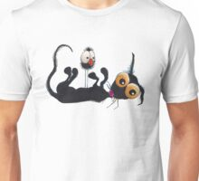 Stressie cat & crow Unisex T-Shirt