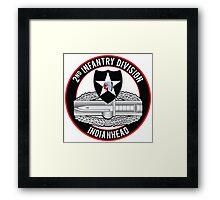 2nd Infantry CAB Framed Print