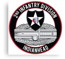 2nd Infantry CAB Canvas Print