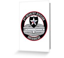 2nd Infantry CAB Greeting Card