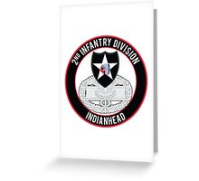 2nd Infantry CFMB Greeting Card