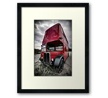 not the 9 to 5...but the 5 to 9... Framed Print