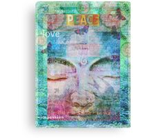Peace Buddha Canvas Print