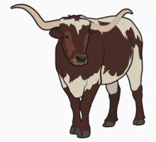 Longhorn Bull Kids Clothes