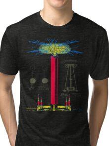 Tesla Coil Tri-blend T-Shirt