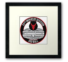 34th Infantry CAB Framed Print