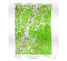 USGS TOPO Map New Hampshire NH Mt Cube 330214 1931 62500 Poster
