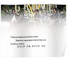 Hold On - Jonas Brothers Poster