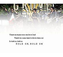 Hold On - Jonas Brothers Photographic Print