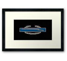 Combat Infantry Badge Framed Print