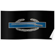 Combat Infantry Badge Poster