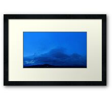 ©HCS The Blue Tones Framed Print