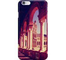 Plaza de Espana in Seville, Spain. iPhone Case/Skin