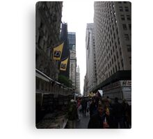 NYC Columbus Day Market Canvas Print