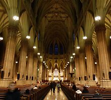NYC Cathedral by FangFeatures